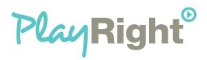 PlayRight-logo-lichtblauw